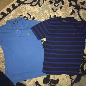 Boy's Youth Polo by Ralph Lauren Tops Medium 10/12